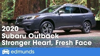 2020 Subaru Outback First Look Debut