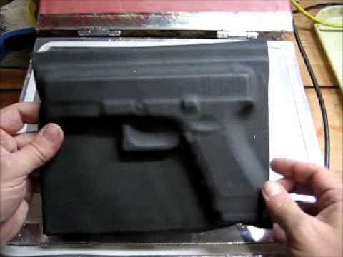 Vacuum Forming Kydex Using A 3d Mold Youtube