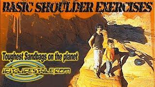 SandBag shoulder exercises