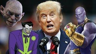 Trump Tweets read by Villains