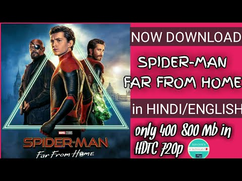 Download [HD]How to download spiderman far from home full movie in hindi/english in 720p quality