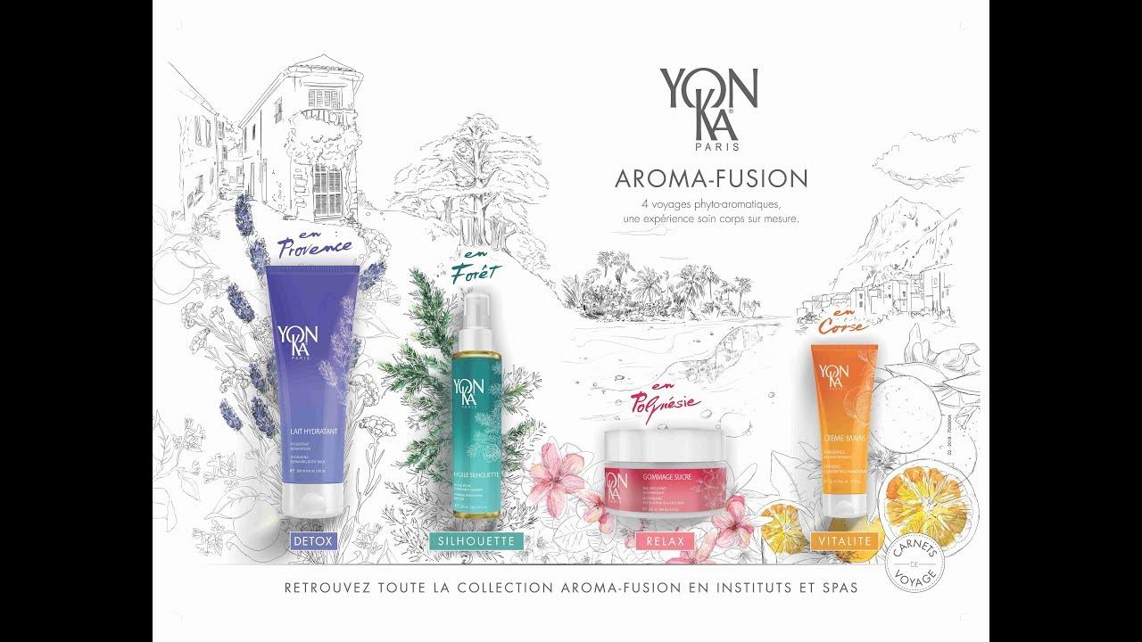 Découvrez Aroma Fusion, la nouvelle collection corps Yon-Ka
