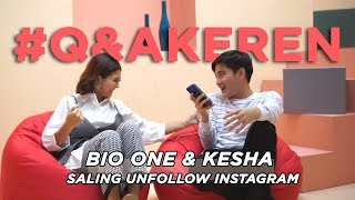 Perkara Bio One & Kesha Saling Unfollow Instagram!