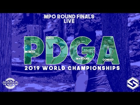 2019 PDGA World Championships - Live - MPO Round 5 FINALS - Front 8