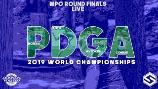 2019 PDGA World Championships - Live - MPO Round 5 FINALS - Front 8