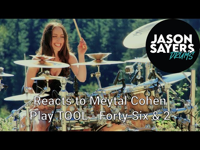 Drummer Reacts to Meytal Cohen - TOOL - Forty Six & 2