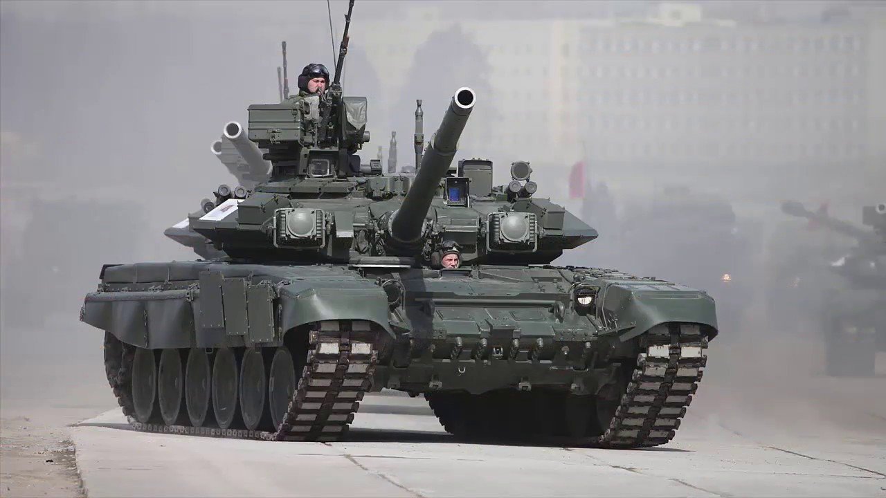 Russia s army to receive new t 90m main battle tank in 2018 youtube - Army tank pictures ...