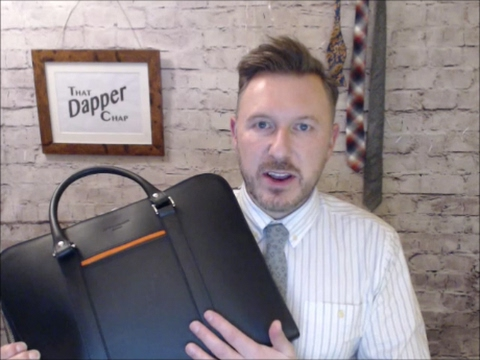 Unboxing the Palissy briefcase from Opperman London