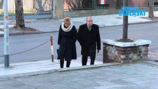 Jerzy Wilk podczas drugiej tury wyborów