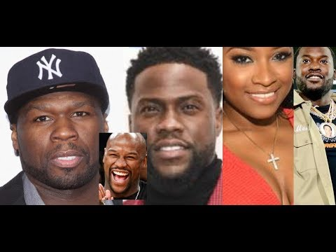 50 Cent and Kevin Hart Laugh about $18 Million Dollar Watches and Meek Mill hates WIgs Toya REACTS