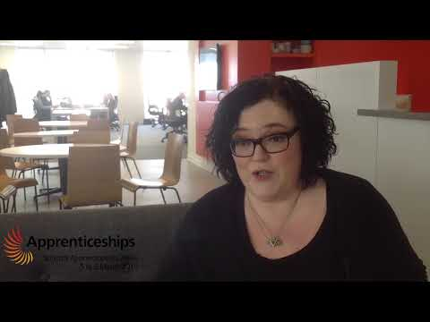 National Apprenticeship Week 2018 - Gretchen