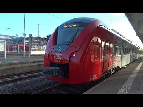 Innenraum Des Neuen 1440 001 Alstom Coradia Continental Von DB Regio Mitte Für Das E-Netz Saar RB