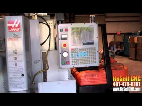 Haas TM-1 For Sale - ReSell CNC (407) 478-8181