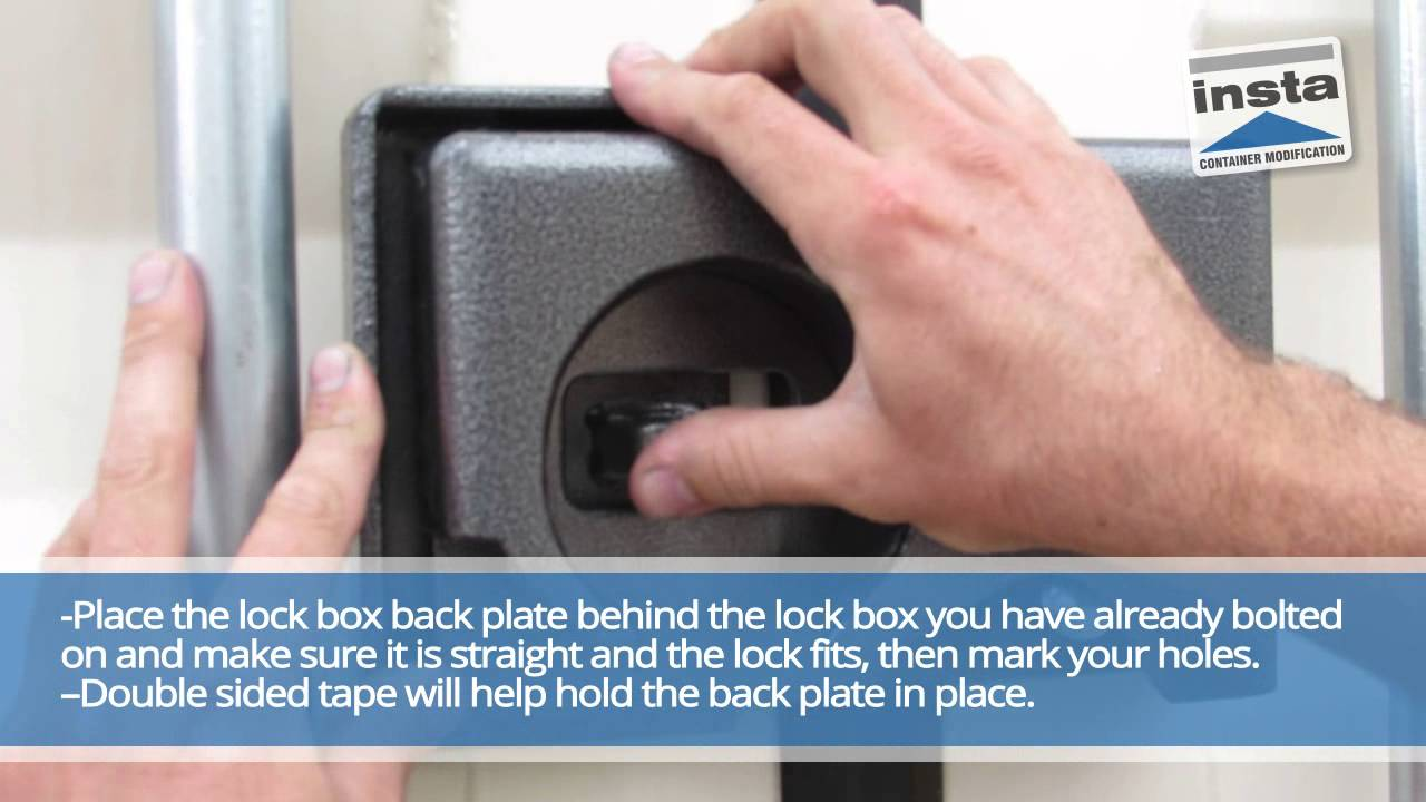 3233 - Insta Puck Bolt-On Lock Box - Quickfit Container