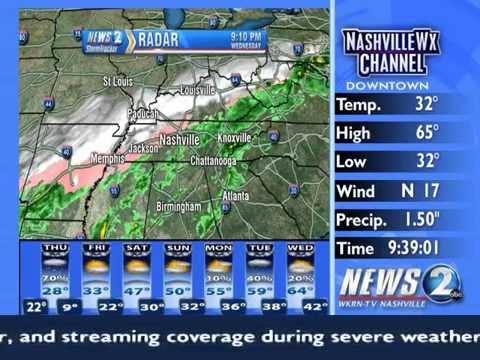 March 4, 2015 Snow Coverage - Nashville WX Channel