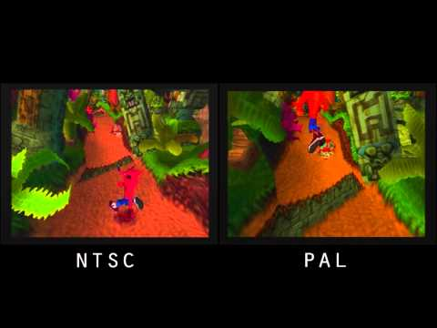 PAL vs. NTSC! - Crash Bandicoot (PSX)