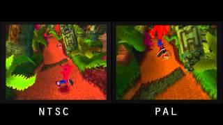 PAL vs. NTSC! - Crash Bandicoot (PSX)