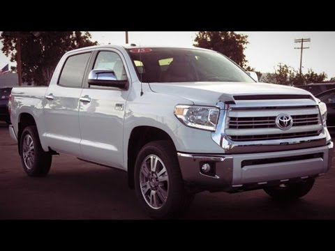 2015 toyota tundra 1794 edition full review start up exhaust youtube. Black Bedroom Furniture Sets. Home Design Ideas