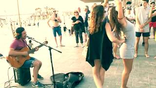 Despacito  Live - Street Singer - Amazing Voice - Dancers
