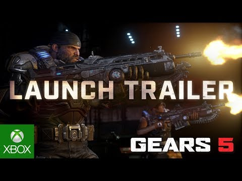 Gears 5's launch trailer is here, and it's full of cameos | PC Gamer