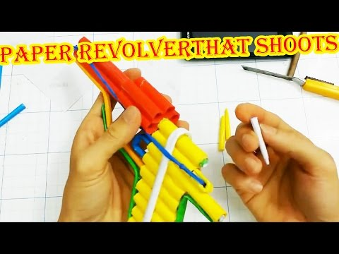 How to make a Paper Revolver that Shoots |...