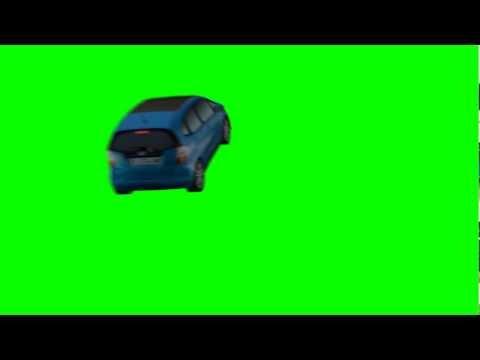 Create your Own Car Scene - Green Screen Animation