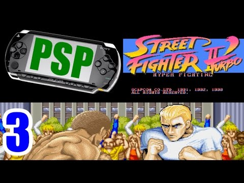 [3/5] Ryu Playthrough - STREET FIGHTER II DASH Turbo(PlayStation Portable)