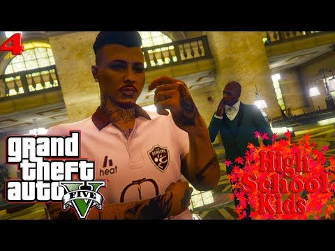 "GTA5 HIGH SCHOOL KIDS Ep.4 - ""THE NEW JOB CONTRACT""👨🏾‍💻💼"