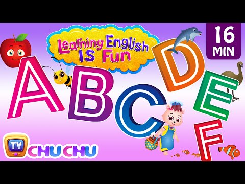 Thumbnail: ABCDEF Alphabet songs with Phonics Sounds & Words for Children | Learning English with ChuChu TV