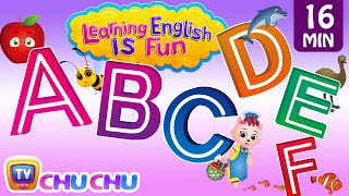 ABCDEF Alphabet songs with Phonics Sounds & Words for Children | Learning English with ChuChu TV