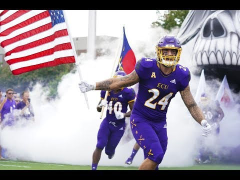 2018 American Football Highlights - ECU 37, Old Dominion 35