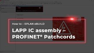 EPLAN eBUILD: Die LAPP IC assembly Bibliothek