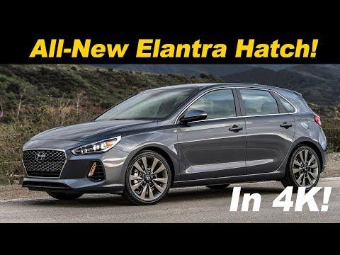 2018 Hyundai Elantra GT Review and Road Test in 4K