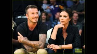 pictures of David Beckham & Victoria