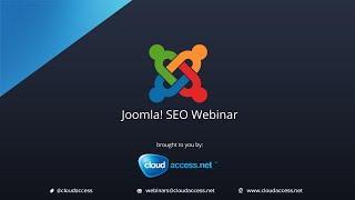 Joomla! SEO - A Step by Step Tutorial 10/25/12