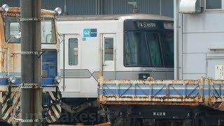 【東京メトロ03系 36編成目廃車 03-108F「号車番号」付き3両とモハ03-308の台車は、譲渡で決まりか?】一方、03-137Fは熊本電鉄2編成目で譲渡された模様。
