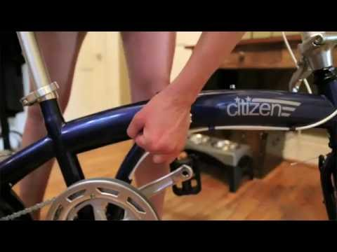 Citizen Tokyo Folding Bike and tips for bringing it on NYC public transportation