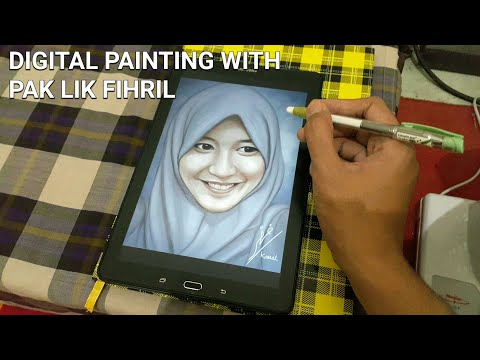 Digital Painting Vienny JKT48 With Artflow App