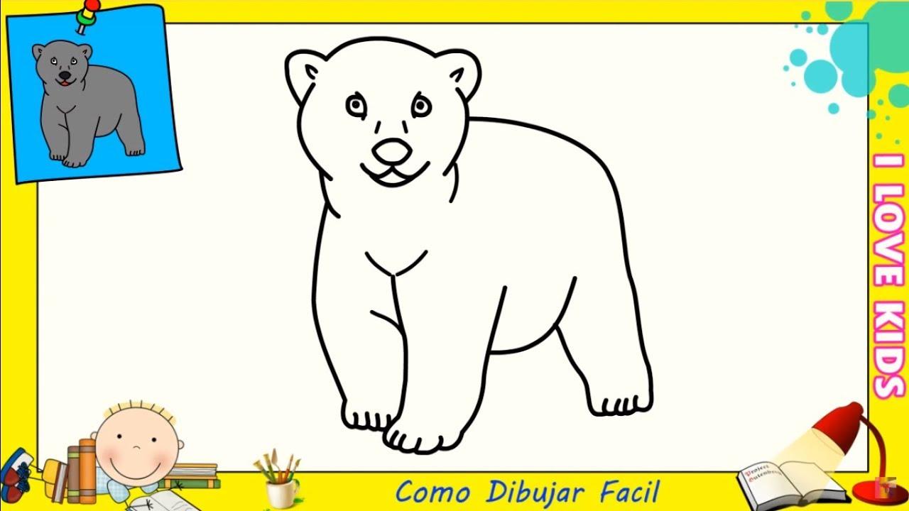 Dibujos De Osos Para Colorear Para Niños Dibujos De Osos Para