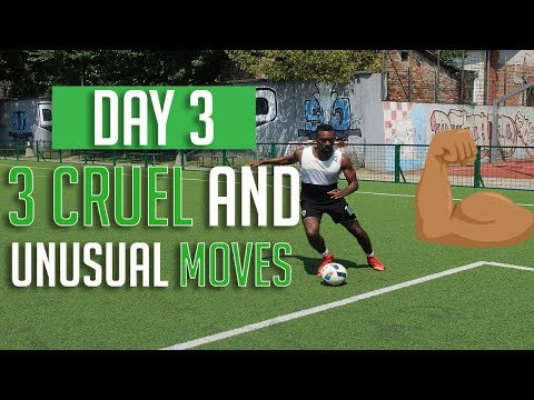 3 NEW SKILL MOVES FOR YOUR ARSENAL – BRUTAL SKILL MOVES TO BEAT DEFENDERS – DAY 3