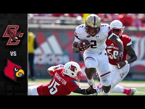 Boston College vs. Louisville Football Highlights (2017)