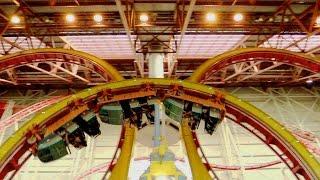 Mindbender off-ride HD Galaxyland Amusement Park
