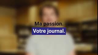 Frédéric Thomasset, journaliste web pour la Tribune de Genève
