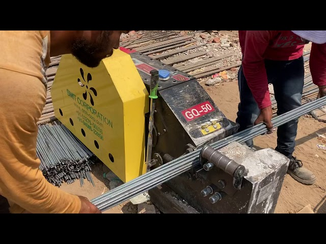 Smit make GQ50 TMT Rebar Cutting machine heavy duty upto 40 mm