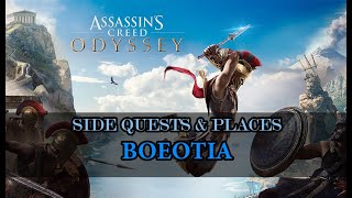 Assassin's Creed Odyssey: Boeotia side quests, places