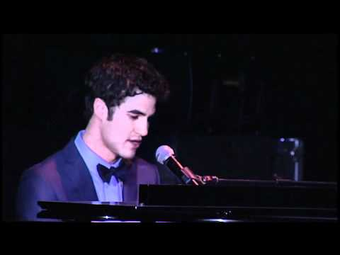 "Darren Criss performs ""Not Alone"" at Trevor Live"