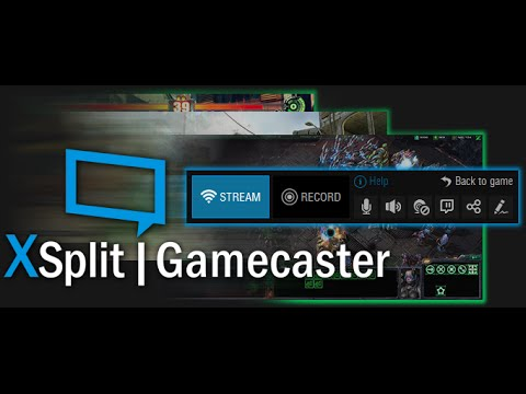 Xsplit Gamecaster Review and Free licence - YouTube