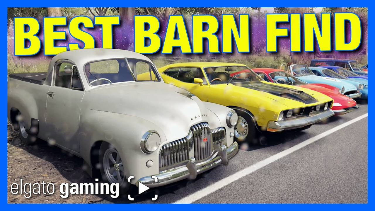 Forza Horizon 3 Online Best Barn Find Powered By ElgatoGaming Race 5