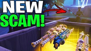 *NEW SCAM* The Invisible WALL Scam! (Scammer Get Scammed) Fortnite Save The World