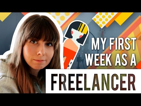 My first week as a FREELANCE ARTIST